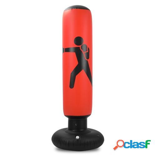 Saco de boxeo de fitness Saco de boxeo inflable Soporte Saco
