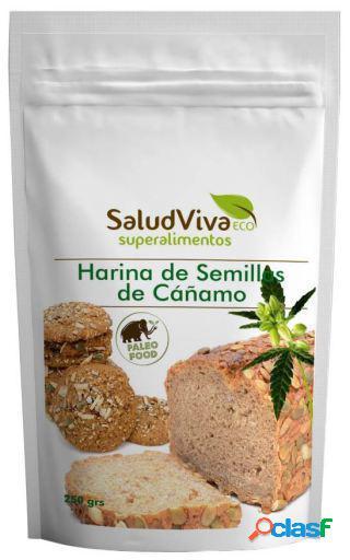 Salud Viva Harina de Semilla de Cáñamo 250 gr