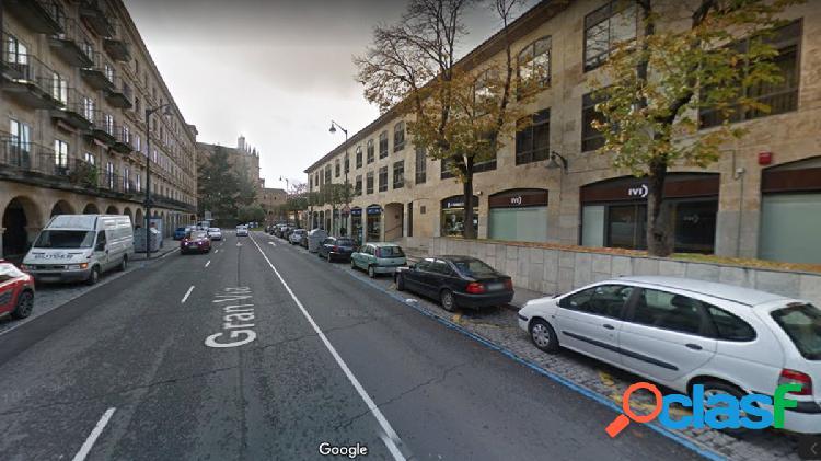 Se alquila local comercial en Gran Vía de Salamanca