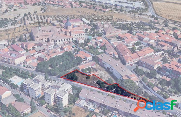 Se vende PARCELA de 1706 m2 de suelo urbano en pleno centro
