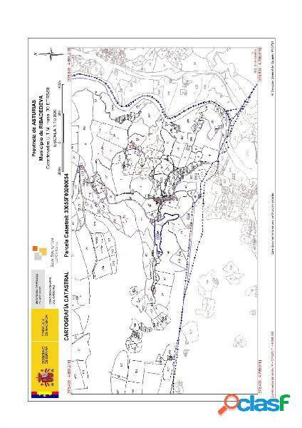 Se vende terreno rustico en la zona de Andinas, Ribadedeva.