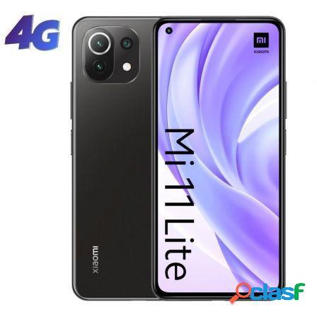 "Smartphone xiaomi mi 11 lite 6gb/ 128gb/ 6.55""/ negro boba"