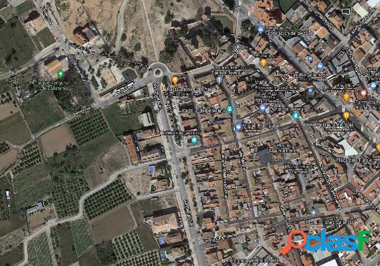 Solar urbano en zona Castillo de Benisano