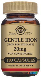 Solgar Hierro Suave 20 mg Cápsulas 180 Unidades