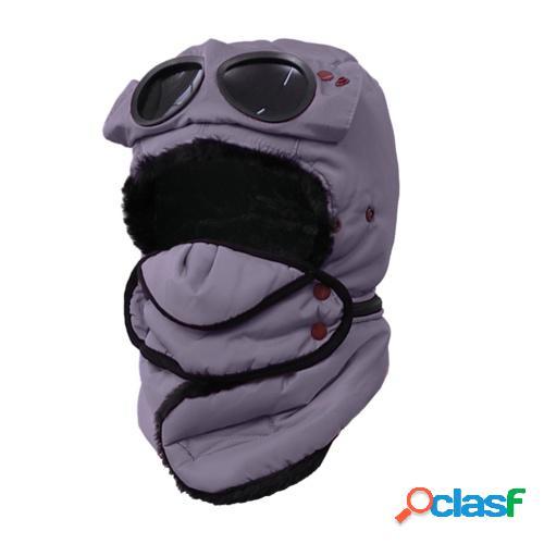 Sombrero de invierno para niños a prueba de viento Sombrero