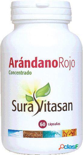 Sura Vitasan Arándano Rojo 600 mg 60 Cápsulas
