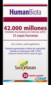 Sura Vitasan Human Biota 30 Cápsulas