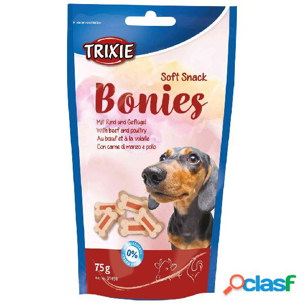 TRIXIE Snack Soft Snack Bonies Ternera y Ave 75 GR.