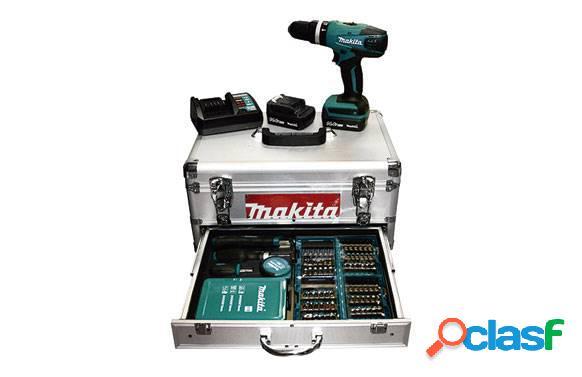 Taladro Percutor a batería Makita HP347DWEX1