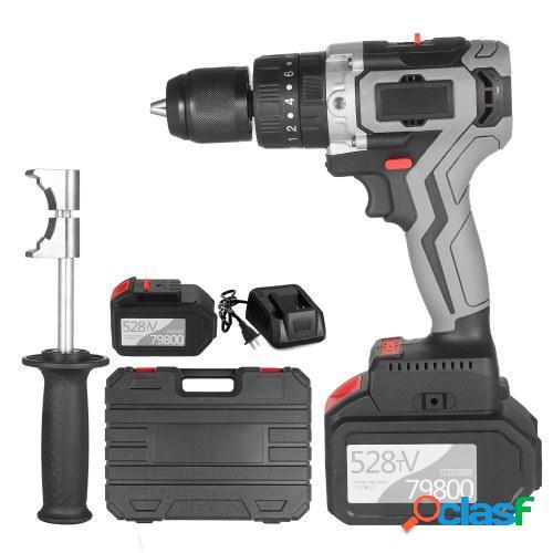 Taladro atornillador inalámbrico 21V 4.0A Batería Max