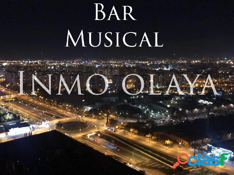Traspaso Bar musical C1 en el Eixample Izquierdo