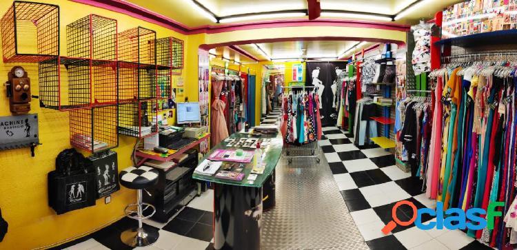 Traspaso de tienda de ropa de fiesta situada en principal