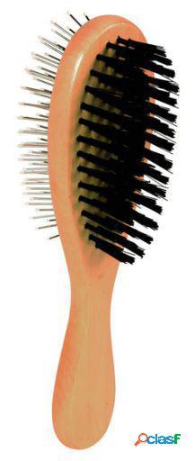 Trixie Cepillo Carda Madera Ovalado Doble 6 x 23 cm