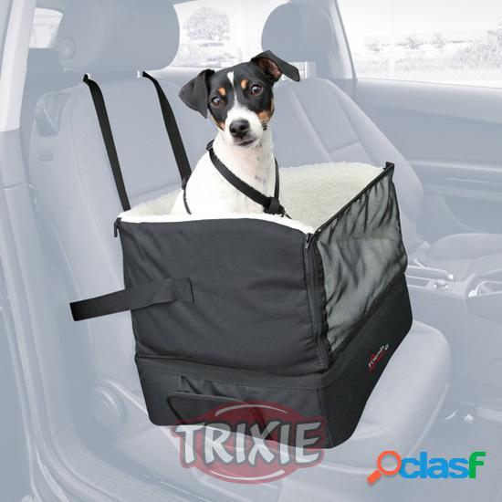 Trixie Perro Asiento coche, nylon, 45x38x37 cm, Negro
