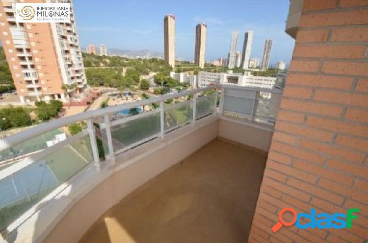 Vía Parque, Playa Poniente - Apartamento con bonitas vistas