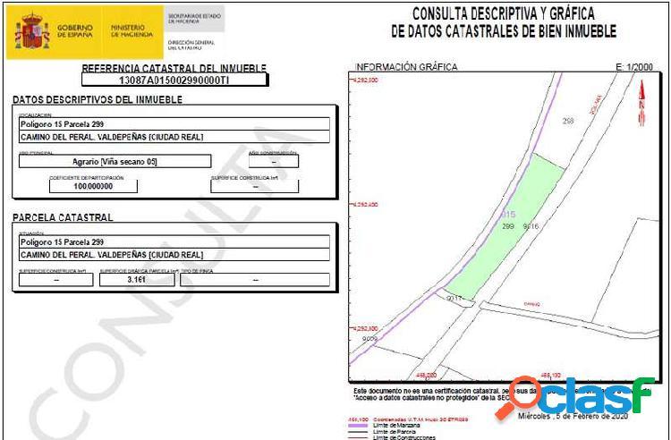 Venta Nave industrial - Carretera de la Solana, Valdepeñas,