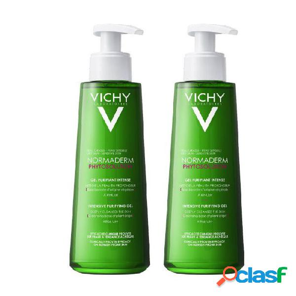 Vichy Normaderm Phytosolution Intensive Purifying Gel Set