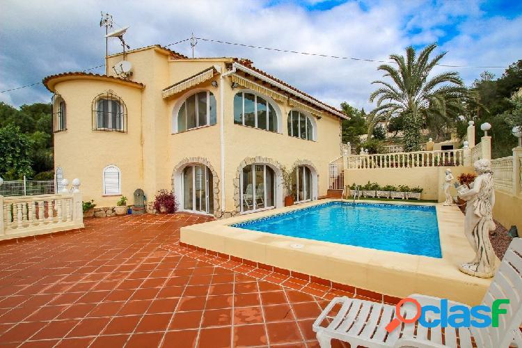 Villa con vistas al mar en Benissa