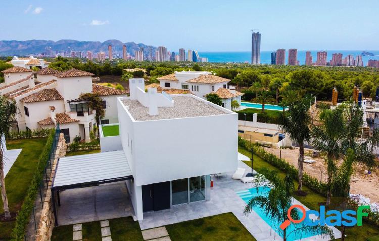 Villa con vistas al mar en Finestrat