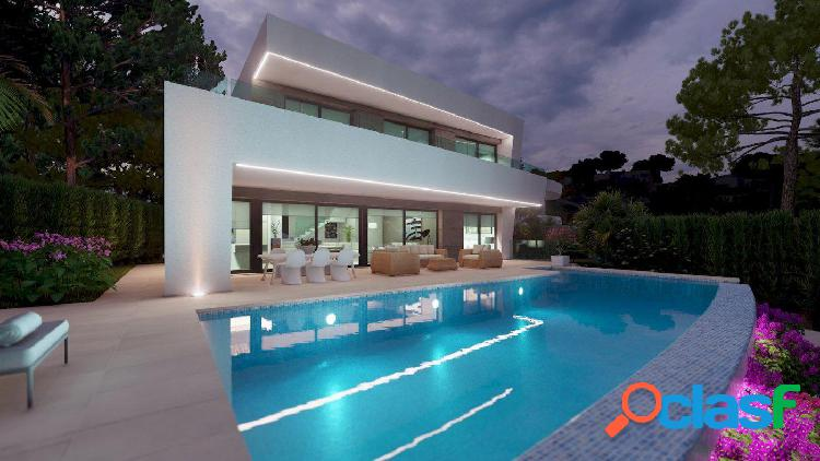 Villa de lujo de nueva construcción con vistas al mar