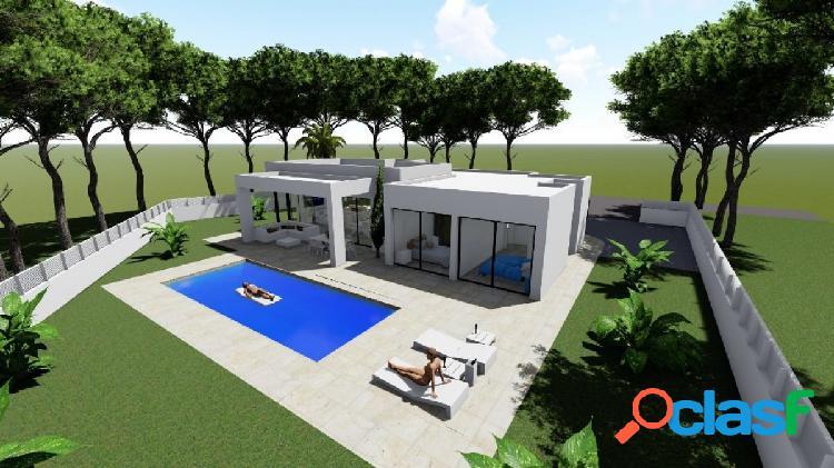Villa de obra nueva en la costa de Calpe, con una amplia