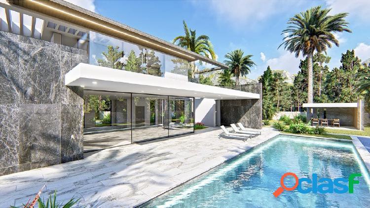 Villa moderna refinada en una zona privilegiada de Denia