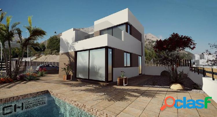 Villas de obra nueva desde 365.000€ de 3 y 4 dormitorios