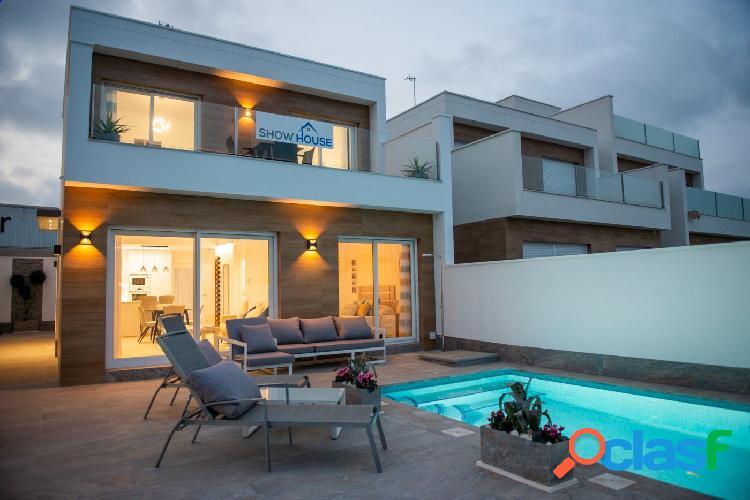 Villas modernas en Pilar de Horadada