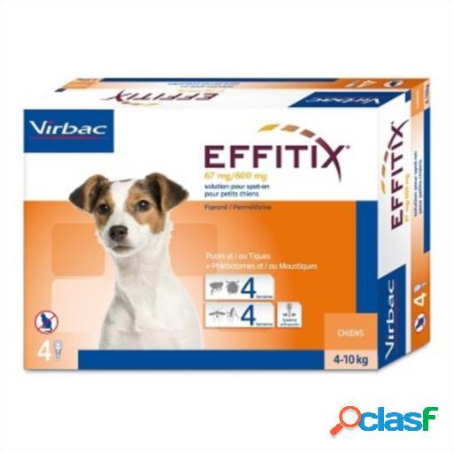 Virbac Sac Pipetas Antiparásitos Effitix para Perros de 4 a