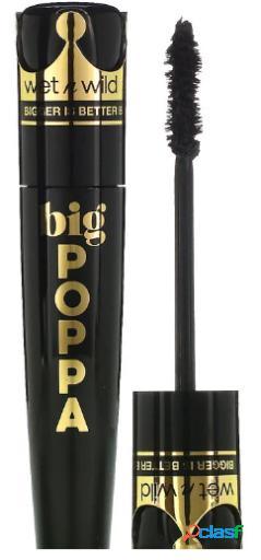 Wet N Wild Big Poppa Máscara Blackest Black 10 ml