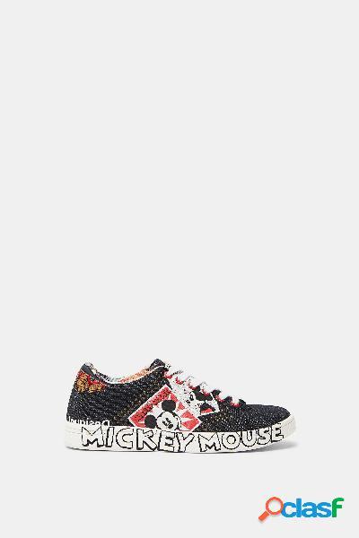 Zapatillas denim Mickey Mouse - BLACK - 39