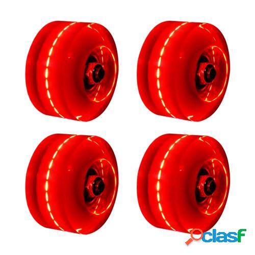 Zapatos de deslizamiento de rueda de doble fila Rueda ligera