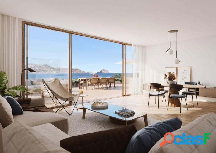 Ático con su espectacular terraza y vistas a la Bahía del