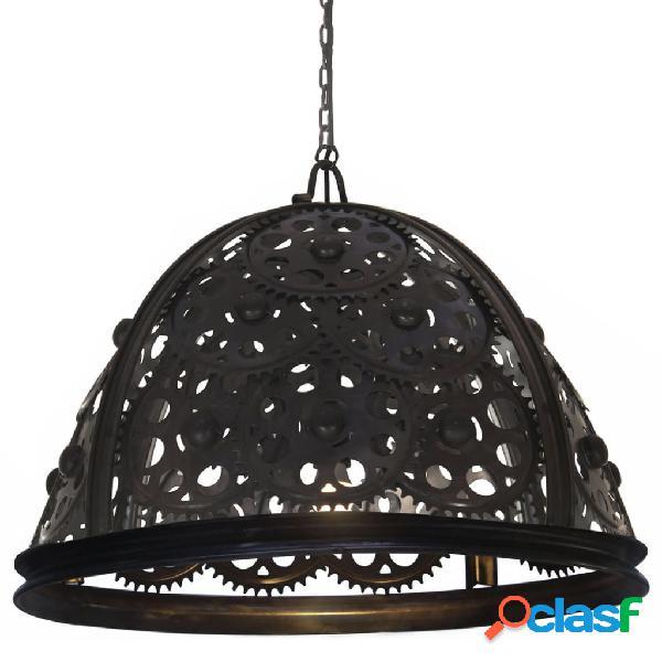 vidaXL Lámpara de techo industrial diseño de rueda dentada