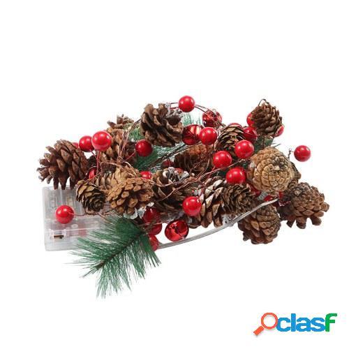 2 metros 20 LED Luz cálida IP54 LED Navidad Luz decorativa