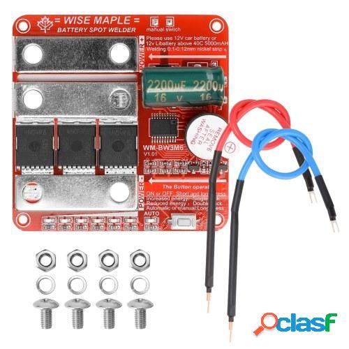 Batería de 12 V Controlador de máquina de soldadura por