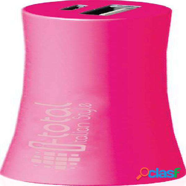 Batería de emergencia. Color rosa