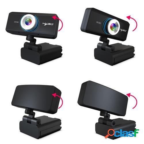 Cámara web HXSJ S90 HD con micrófono USB3.0 2.0 720P