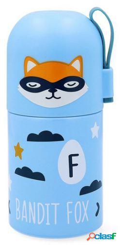 Quid Termo Viaje Little Fox go hero acero inoxidable 0,35 L
