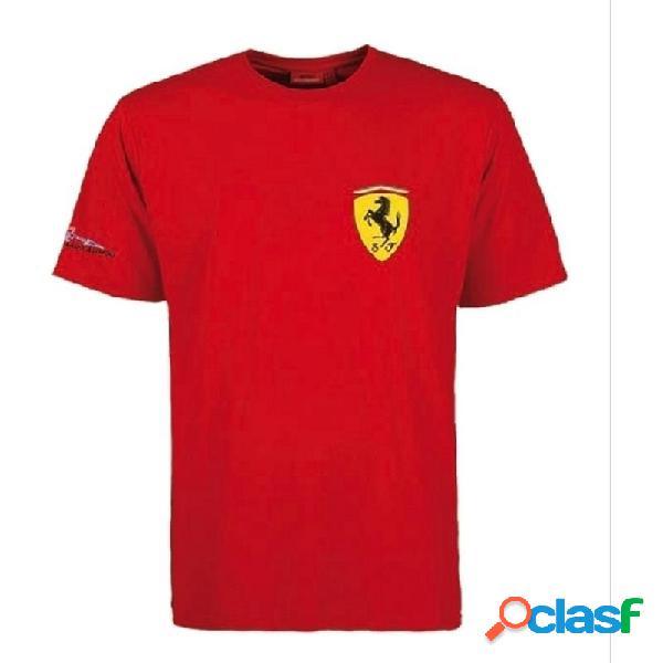 Camiseta Ferrari niño Fernando Alonso Firma talla 10 años