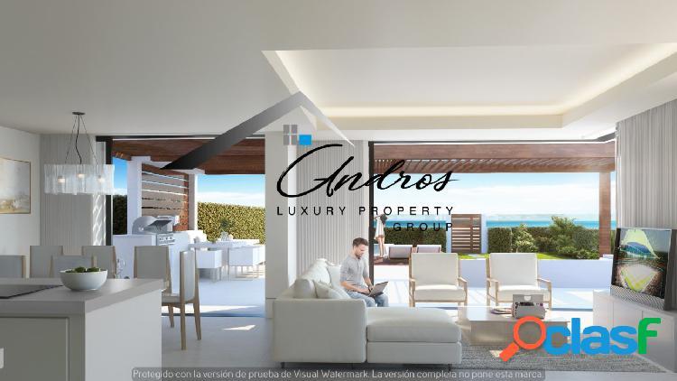 Apartamentos en primera línea de la playa en venta en