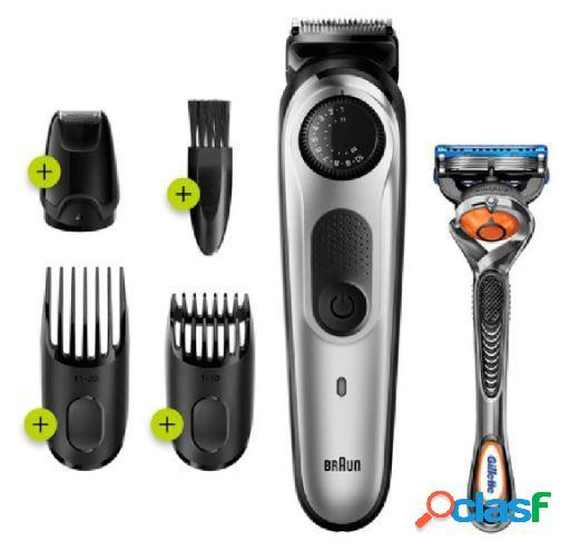 Braun Recortadora de Barba Bt5265 + Maquinilla Gillette