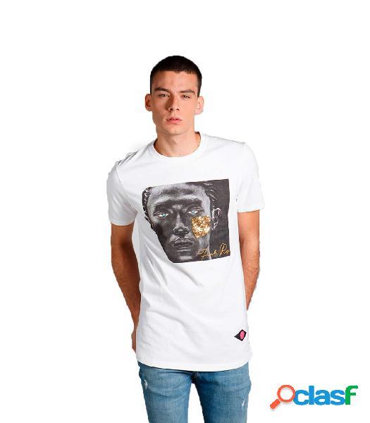 CAMISETA OJO BLANCO Blanco XL