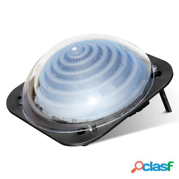 Costway Calentador Solar para Piscina Calentador con Forma