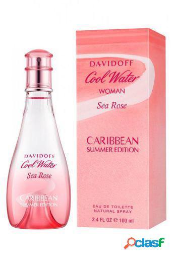 Davidoff Cool Water Woman Sea Rose Caribbean Edt Summer