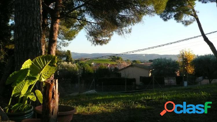 En Sant Antoni de Vilamajor, en la zona residencial de Can