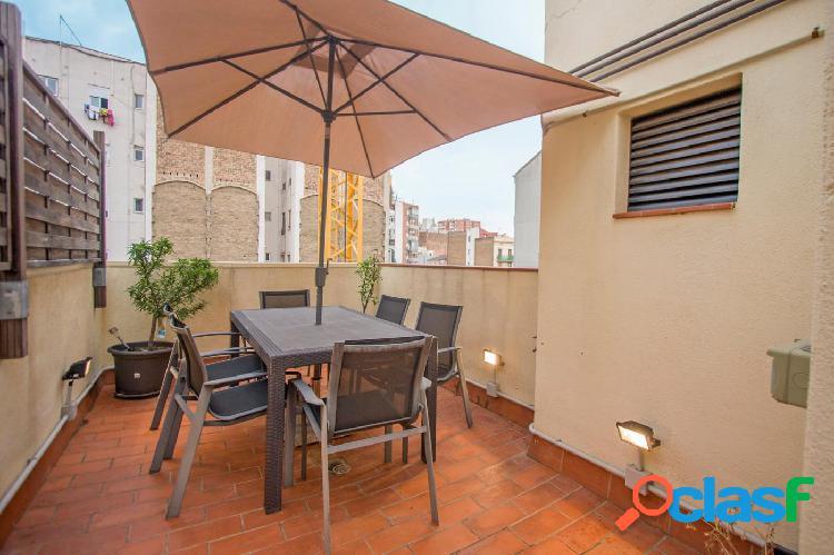 Estupendo piso listo para entrar a vivir con terraza de 38m2