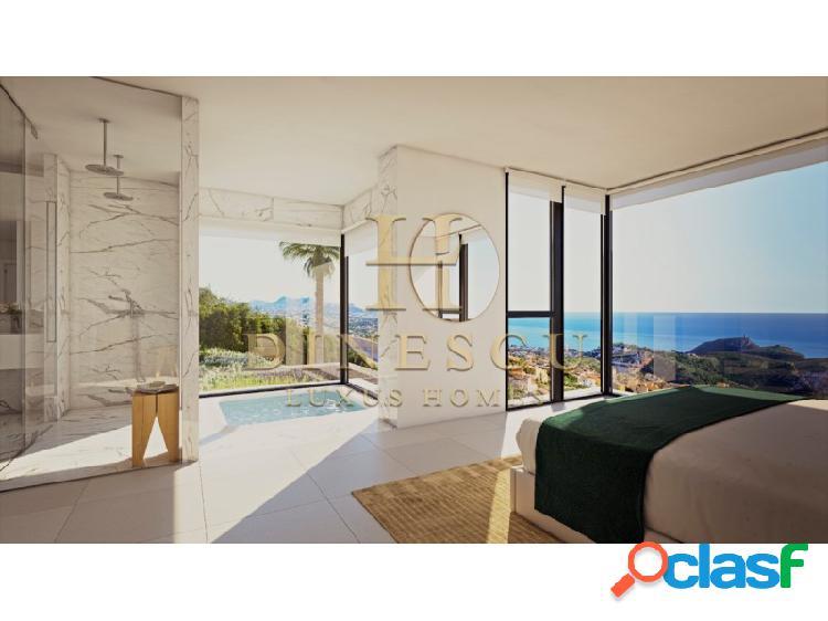 Exclusiva y lujosa villa superior con vistas al mar y gran