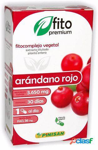 Pinisan Fitopremium Arandano Rojo 30 Capsulas