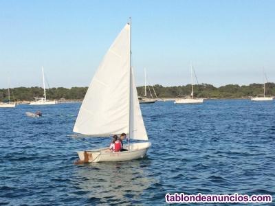 ODIN 385 embarcación polivalente vela, remo y motor en buen